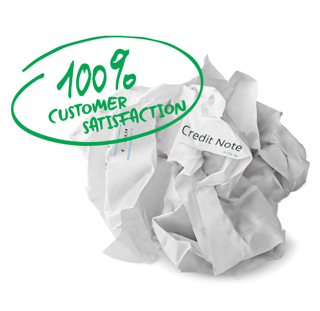 Prevent credit invoices: another road to customer satisfaction
