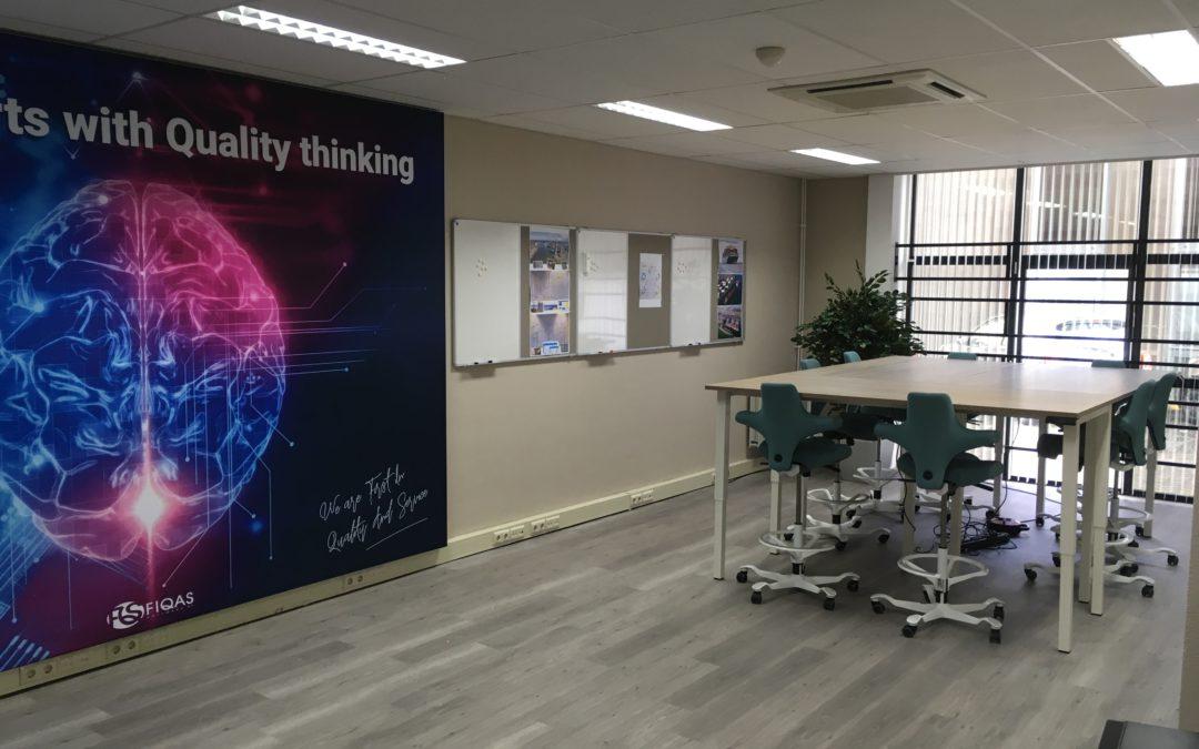 FIQAS opens new sprint room